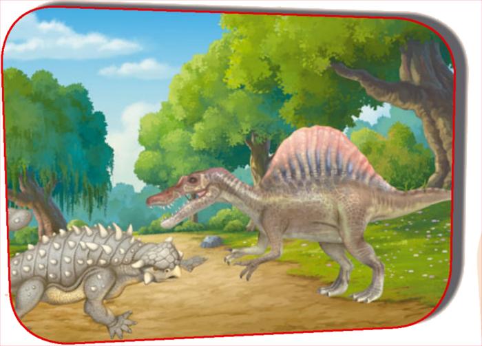 Как защищался анкилозавр