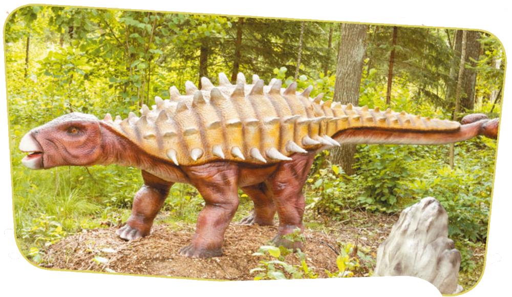 Чем питался анкилозавр
